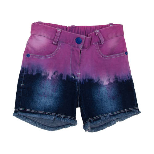 Colored Jeans Shorts for Girls -